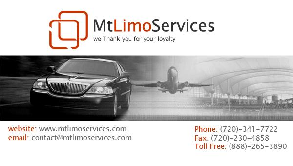 Business card front from mt limousine llc in denver co 80203 by mt limousine llc colourmoves Images