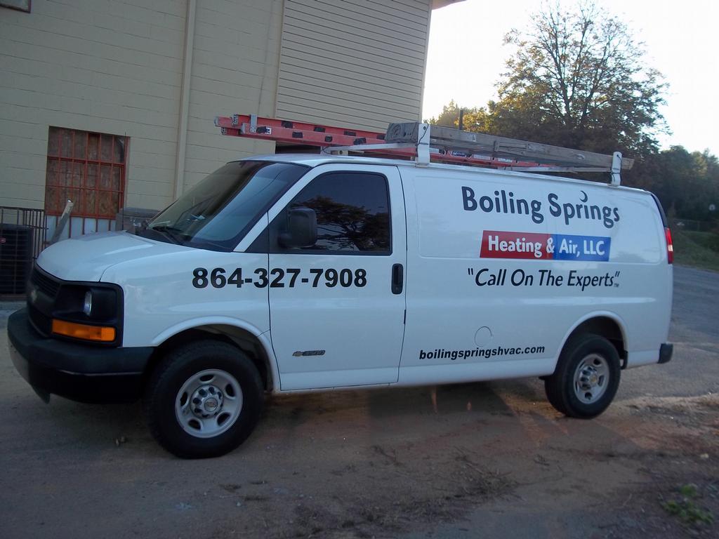 By Boiling Springs Heating Air