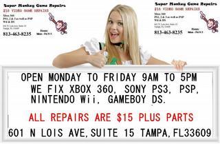 Super Monkey Video Game Repairs - Tampa, FL