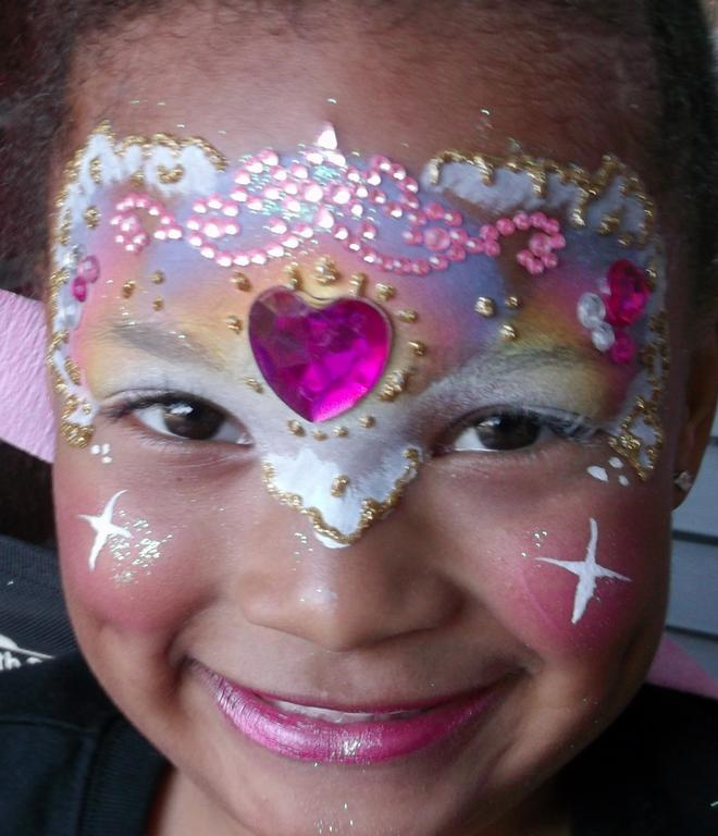 Gallery For gt Face Painting Ideas Girls Princess