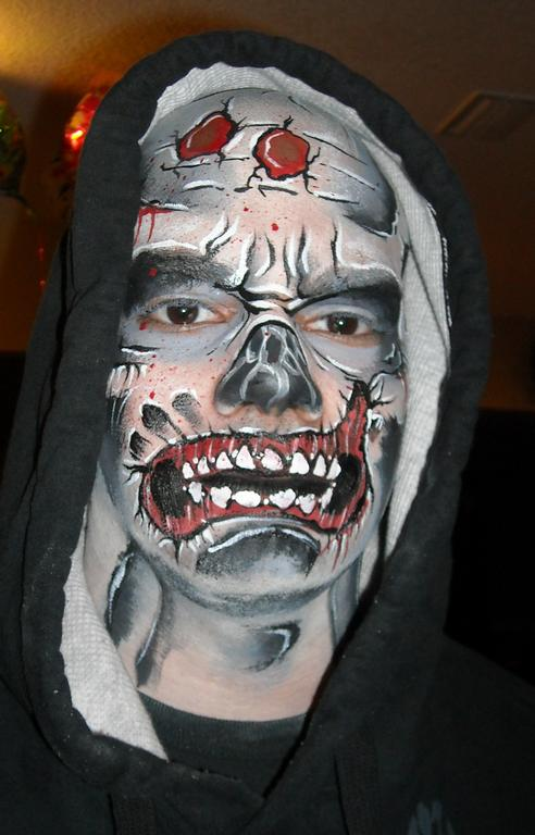 1000+ images about zombies on Pinterest | Zombie face ...