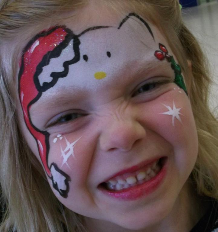 Basic Kitty Face Paint Hello Kitty Face Painting