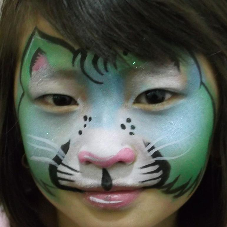 Basic Kitty Face Paint Kitty Cat Face Painting