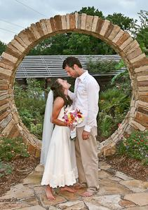 casual outdoor wedding moon gate 300 from Wedding Day Bliss, LLC ...