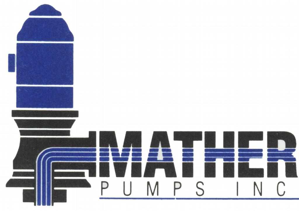 Mather Color Half Logo From Mather Pump Service Inc In