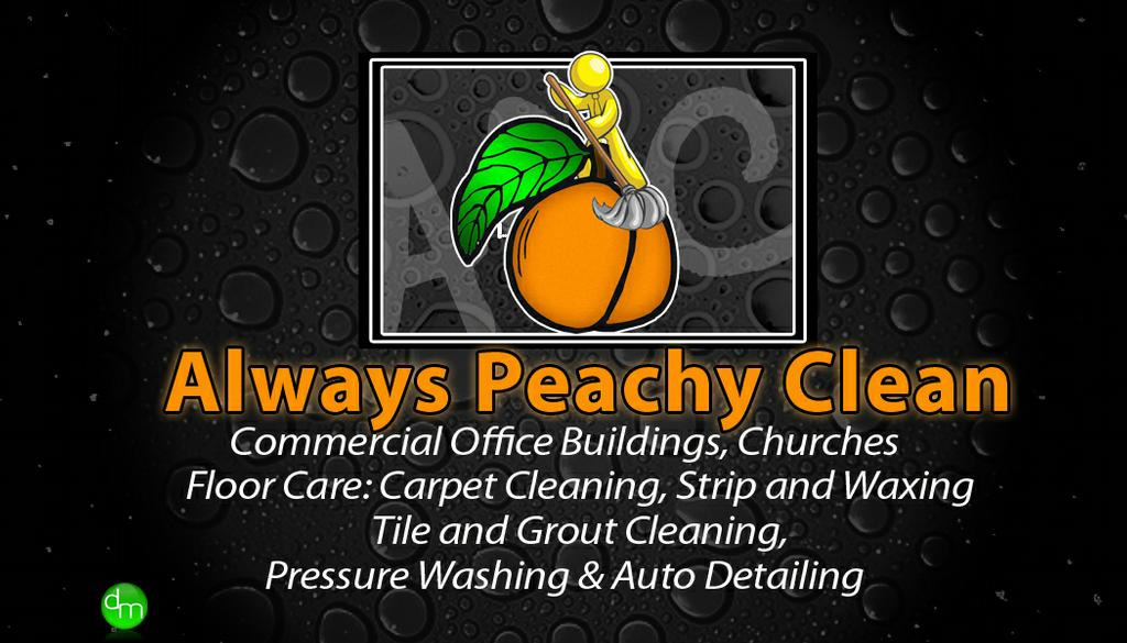 Bizcard Ft 1 By Always Peachy Clean Cleaning Services