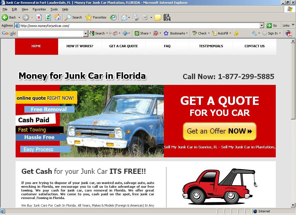 Junk Cars For Cash New Portrichey