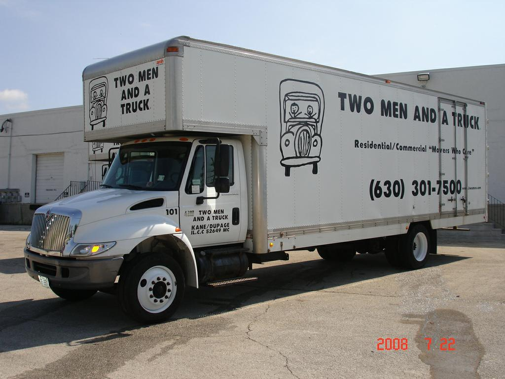 two men and a truck movers naperville north aurora il 60542 630 892 4582. Black Bedroom Furniture Sets. Home Design Ideas