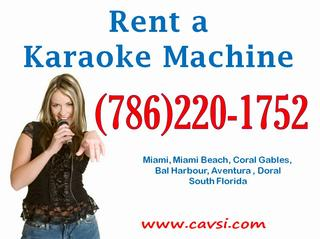 rent a karaoke machine for a