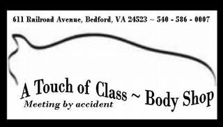 A Touch of Class Body Shop - Bedford, VA