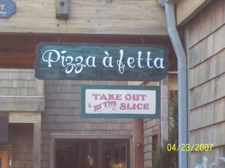 Pizza A' Fetta - Cannon Beach, OR