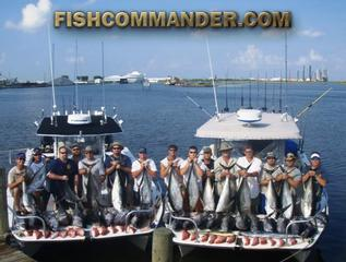 Fishcommander louisiana fishing charters grand isle la for Fishing charters grand isle la