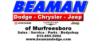 Beaman Dodge Chrysler Jeep - Murfreesboro, TN