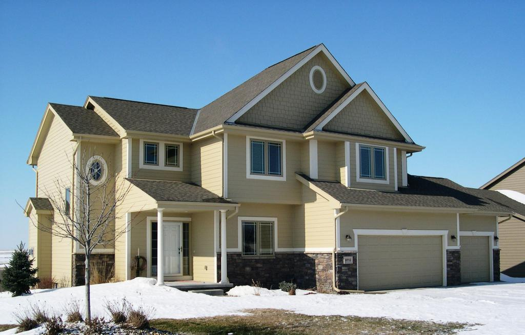 Popular Two Story Home With James Hardie Siding From