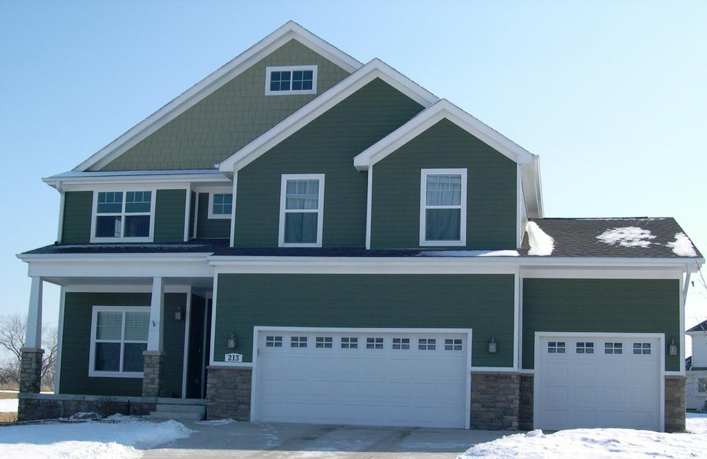 James Hardie Green Ensemble From Certified Siding