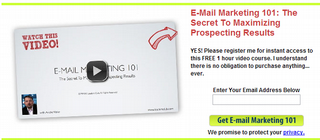 FREE E-Mail 101 Marketing Course