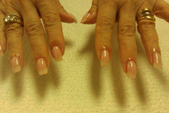 Formed Solar Gel Nails.jpg from Nails by Jacqueline@Salon Nouveau in
