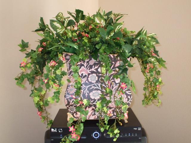 Floral arrangement by Designing Weddings & More