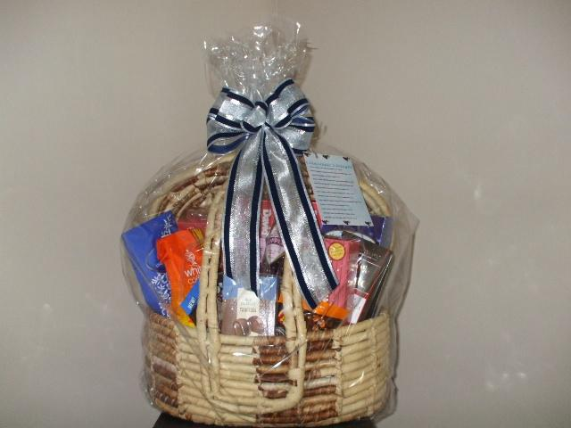 Chocolate Basket for fund raiser by Designing Weddings & More