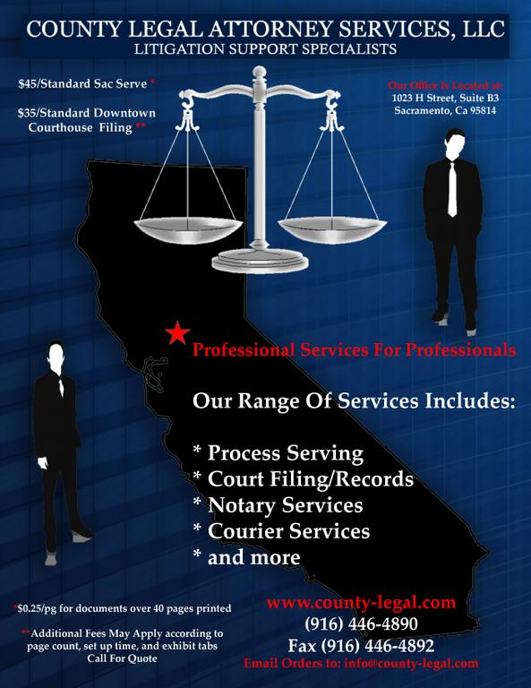 cl flyer from County Legal Attorney Services, LLC in ...