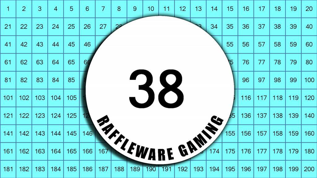 raffleware main board by reverse raffle cleveland usa