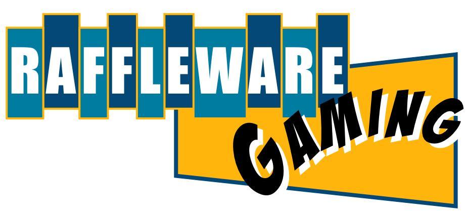raffleware gaming logo by reverse raffle cleveland usa