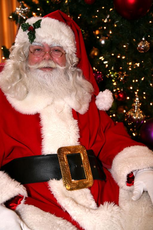 how to become a professional santa claus