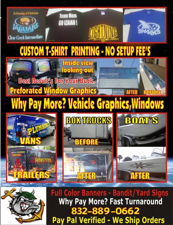 Custom Signs Custom T Shirt Printing Auto Graphics