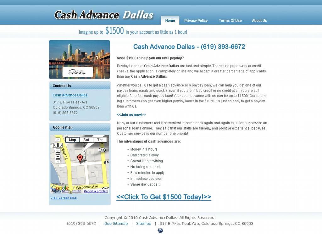 Saginaw texas payday loans
