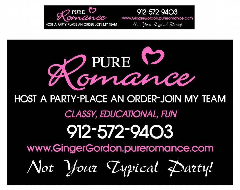 Pure Romance Business Card | Arts - Arts