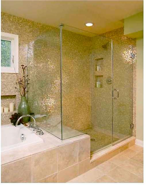 Bathroom Remodel Shower And Tub Combo : Pictures for one day bathroom remodeling in miami fl