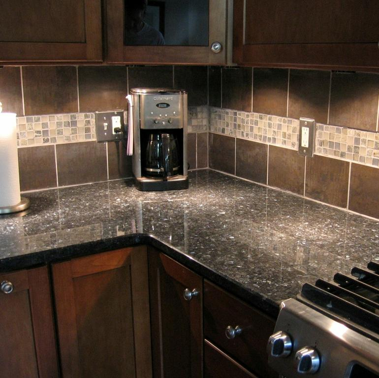 Amazing Backsplash Granite Detail From Caron Home Solutions In Chantilly  With Granite Backsplash.