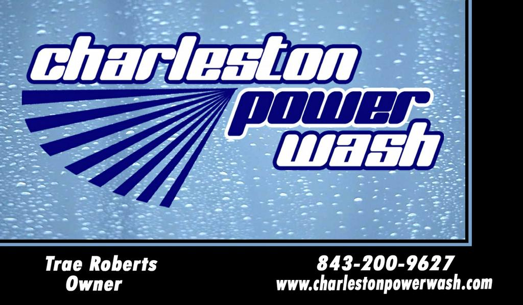 pressure washing charleston business card from Charleston Power Wash ...
