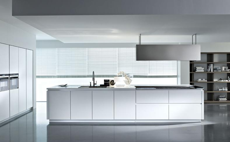 WHITE HIGH GLOSS CONTEMPORARY KITCHEN DESIGN jpg from PEDINI ITALIAN