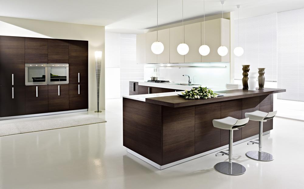 Pedini Magika Wenge Wood Kitchen From Pedini Italian Kitchen Cabinets In San Diego By