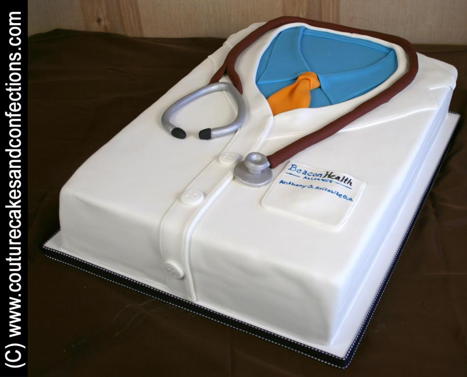 Doctor Coat Cake Cake Ideas and Designs