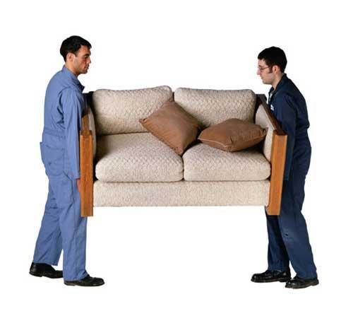 Guys Moving Couch From Swift Movers Llc In San Antonio Tx