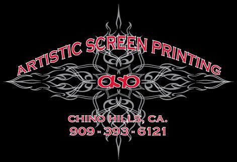 Artistic screen printing chino hills ca 91709 909 393 6121
