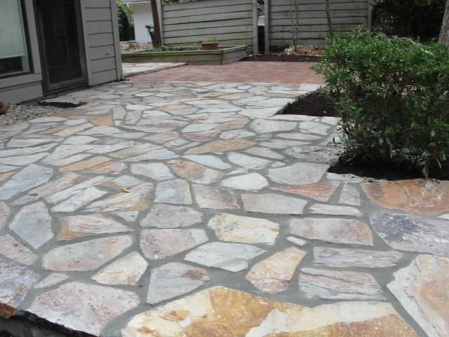 Pictures for the natural stone yard in new bern nc 28560 for Pics of stone patios