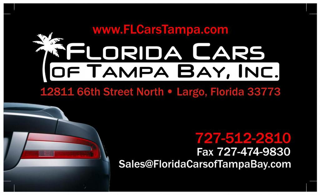 Florida cars of tampa bay inc largo fl 33773 727 512 2810 General motors financial company inc