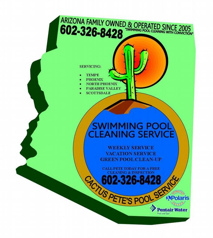 Cactus Pete S Pool Service Phoenix Az 85018 602 326 8428