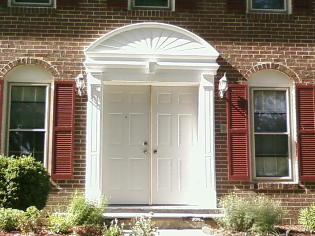 Door crosshead 33 w x 2 3 4 p x 6 h for Fypon crosshead