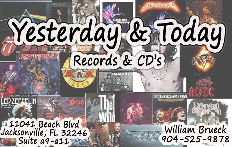 yesterday amp today records jacksonville fl 32246 904