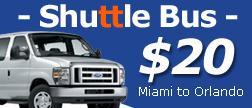 Florida Shuttle Transportation Traveling Miami Orlando Bus Save Up To 50