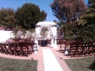 San Clemente Wedding in the round