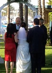 wedding at marina village