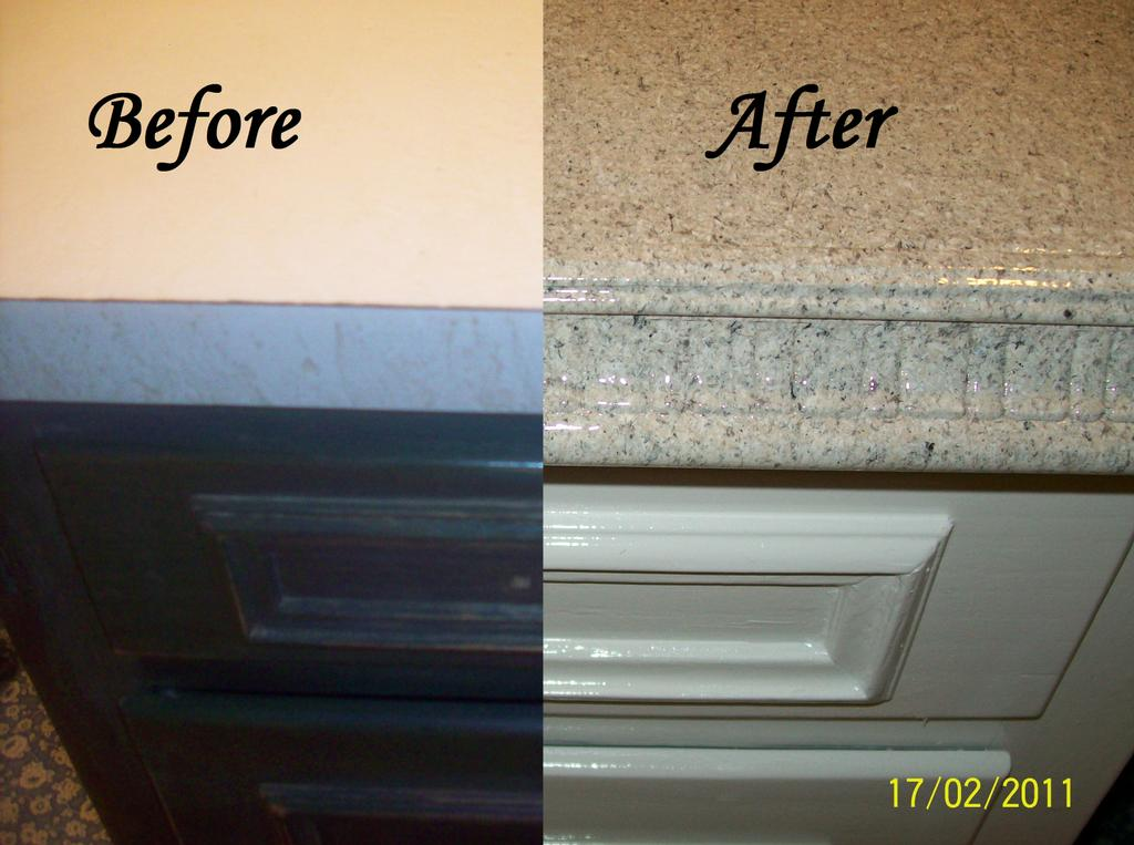 countertop and cabinetry resurfacing from dennie's resurfacing