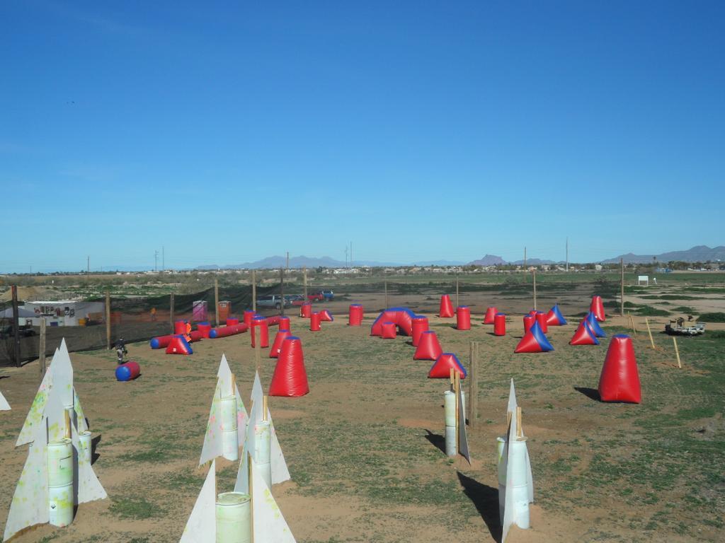 A wild west paintball park mesa az 85212 602 733 7972 for Red mountain motors mesa az