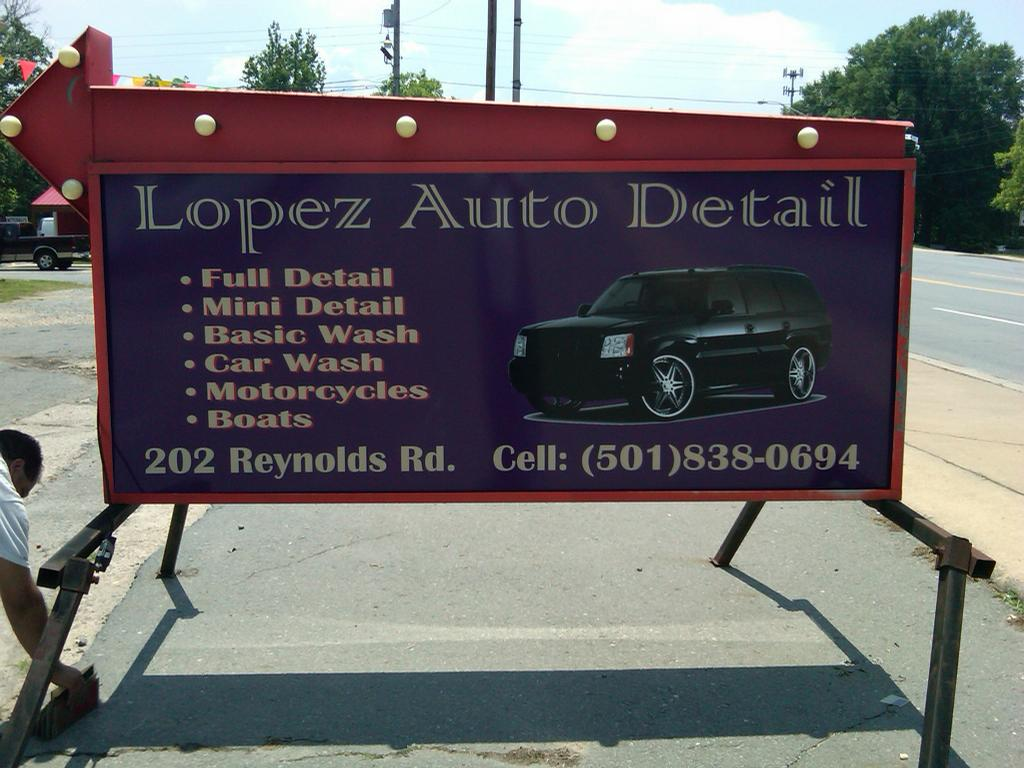 lopez auto detail from sign a rama little rock in little rock ar 72205