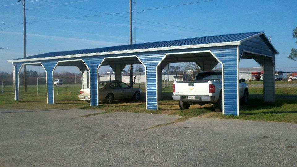 Side Entrance Carports : Denny free wood sheds in florida